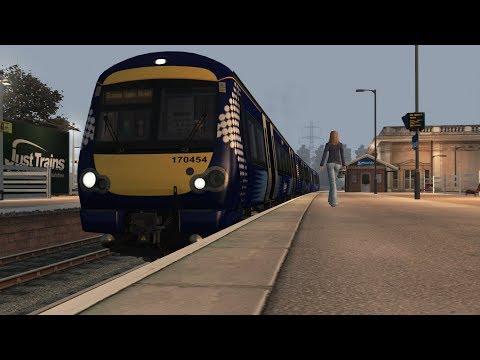 Train Simulator 2017: class 170 kirkcaldy-Glasgow Queen Street (CHscenarios)