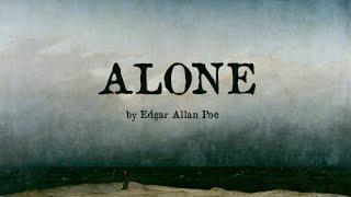 alone edgar allan poe poetry reading