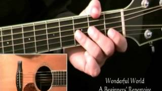 A Beginner's Easy Guitar Repertoire (Preview Only)