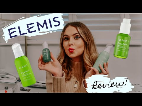 ELEMIS SUPERFOOD CICA CALM CLEANSING FOAM AND HYDRATION JUICE REVIEW! | Sensitive acne prone skin.