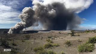 USGS Status Update of Kīlauea Volcano - May 16, 2018