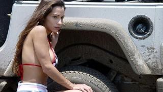 Sexy Girl Hot Lady Drive Truck Oversize Load Mega Machines World Amazing Modern Heavy Equipment