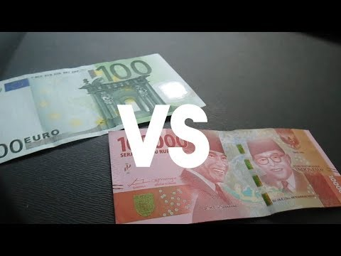 EURO VS RUPIAH - YouTube
