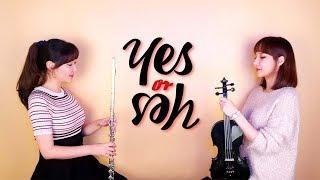 """트와이스(TWICE) -""""YES or YES"""" (연주 버전) / Violin & Flute COVER by 2COLOR Instrumental"""