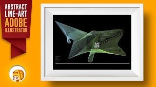 Blend Tool Illustrator Line Art Tutorial | Satori Graphics