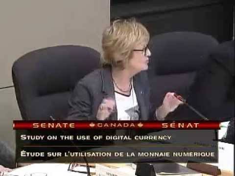 Bitcoin advocates represent at Canadian Senate hearings on Digital Currency (RAW)