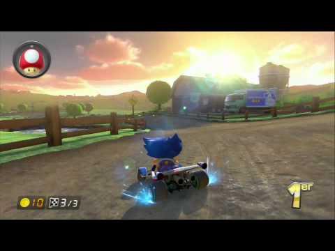Gobouu - Mario Kart 8 - Prairie Meuh Meuh (Course Multi)
