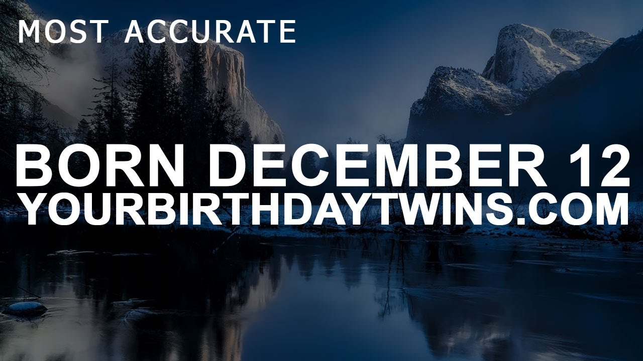 born 12 december astrology