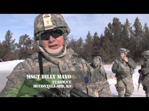 934th Airlift Wing Civil Engineer Squadron Combat Skills Training