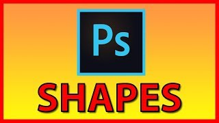 How to install shapes Photoshop CC shapes file (CHS file) - Tutorial