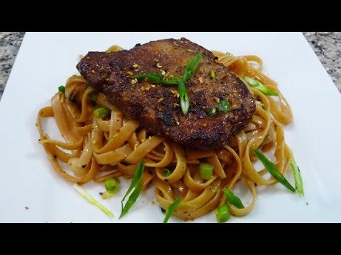 Thai Inspired Pork Chops, recipe, easy delicious Thai cuisine