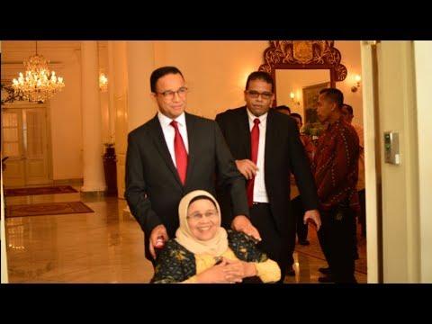 Anies dan Keluarga Hadiri Pemberian Gelar Pahlawan Nasional Terhadap AR Baswedan Mp3