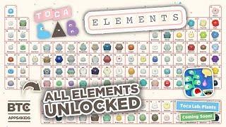 Toca Lab: Elements ALL UNLOCKED [Toca Lab: Plants Teaser]