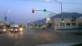 A Cruise Down Main St. Bishop Calif.
