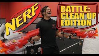 Nerf War Clean Up