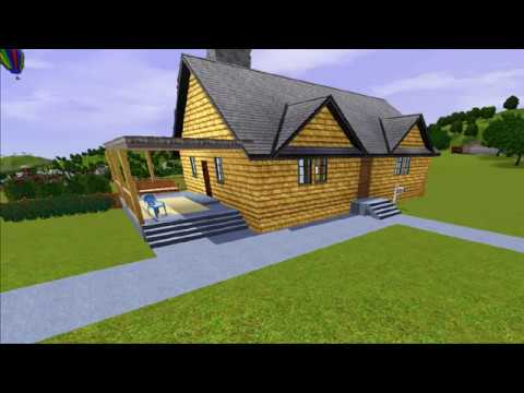 Mr Fred Rogers House On The Sims 3 Youtube