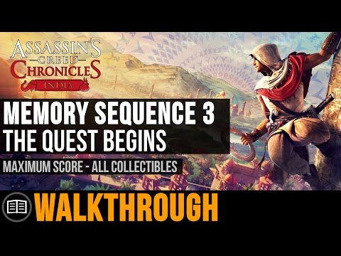 Assassin's Creed Chronicles: India - Memory Sequence 3: The Quest Begins (Maximum Score)