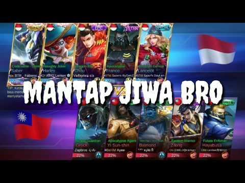 INDONESIA (VS) TAIWAN - MATC 2 [ E-sport 28 desember 2017 ]