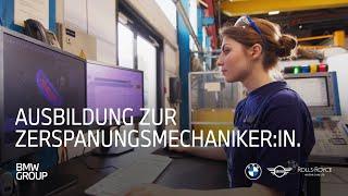 Ausbildung zum Zerspanungsmechaniker (w/m/x) | BMW Group Careers.