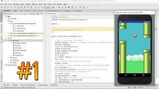 Programming Flappy Bird for Android - part 1