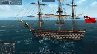 My Most Powerful Ship Yet, Santisima Trinidad Vs, Two Third-rate Ships-of-the-Line, Naval Action