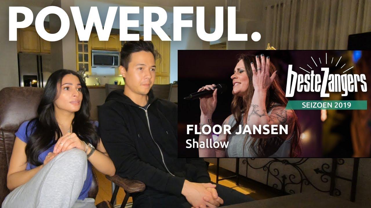 FLOOR JANSEN - SHALLOW!! (Couple Reacts)