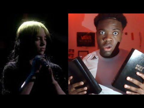 """Billie Eilish """"No Time To Die"""" ( Brit Awards, London) Reaction"""