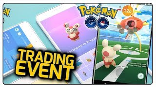 TRADING EVENT W POKEMON GO! SPINDA ZŁAPANA!