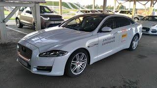 Тест Jaguar XJ за 8,5 миллиона рублей. Полигон Jaguar Land Rover Experience.