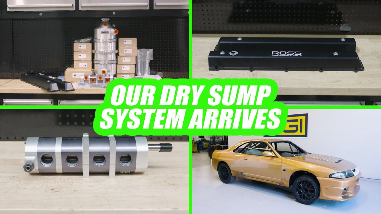 RB26 Dry-Sump Kit and More Parts Arrive - Project No Secrets Ep18