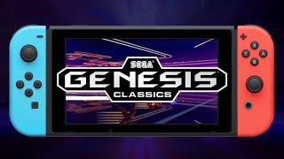 Sega Genesis Classics - Nintendo Switch Announcement Trailer