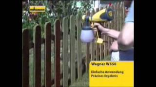 Краскопульт WAGNER W550 (описание, пример работы)(Описание и пример работы краскопульта (краскораспылителя, пулевизатора) WAGNER W550 http://wagner.prom.ua/ Краскопульт..., 2011-10-21T12:26:54.000Z)