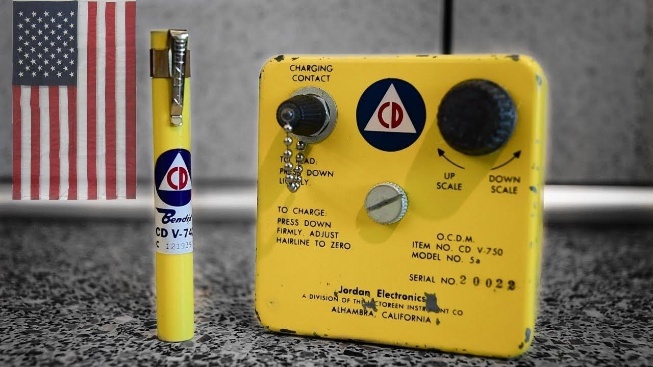 Dozymetr osobisty CDV 742 i rentgenometr CDV 750 – obsługa sprzętu z USA