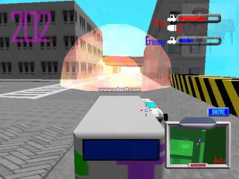 car attack game funny