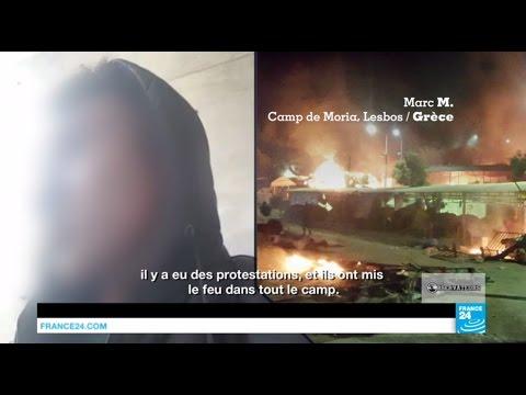 Un mois de galère dans le camp de Moria, à Lesbos en Grèce, filmé par notre Observateur