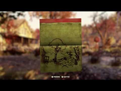 Carte Au Tresor Vallee Toxique.Fallout 76 Carte Au Tresor De La Foret N 9 Youtube