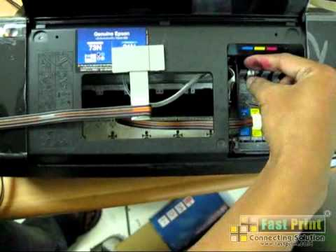 Cara Mereset Ink Level Chip Gabung Printer Epson T20e T11 Youtube