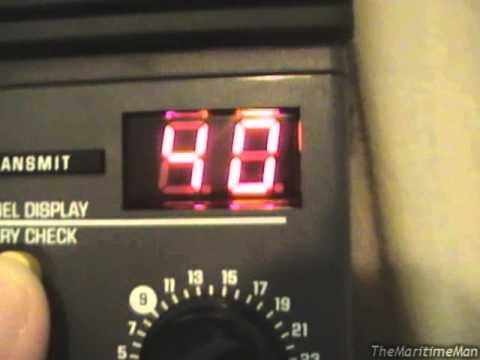 More on GE 3-5979 handheld CB radios