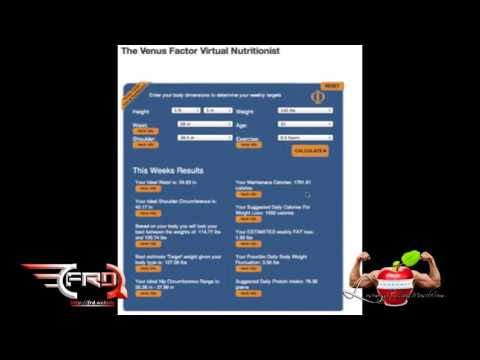 How To Use Venus Factor Virtual Nutritionist? Detailed Manual