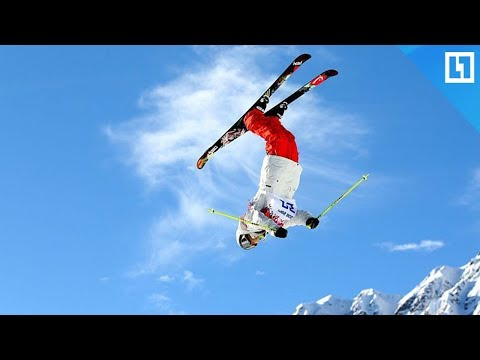 Лыжные акробаты в Москве