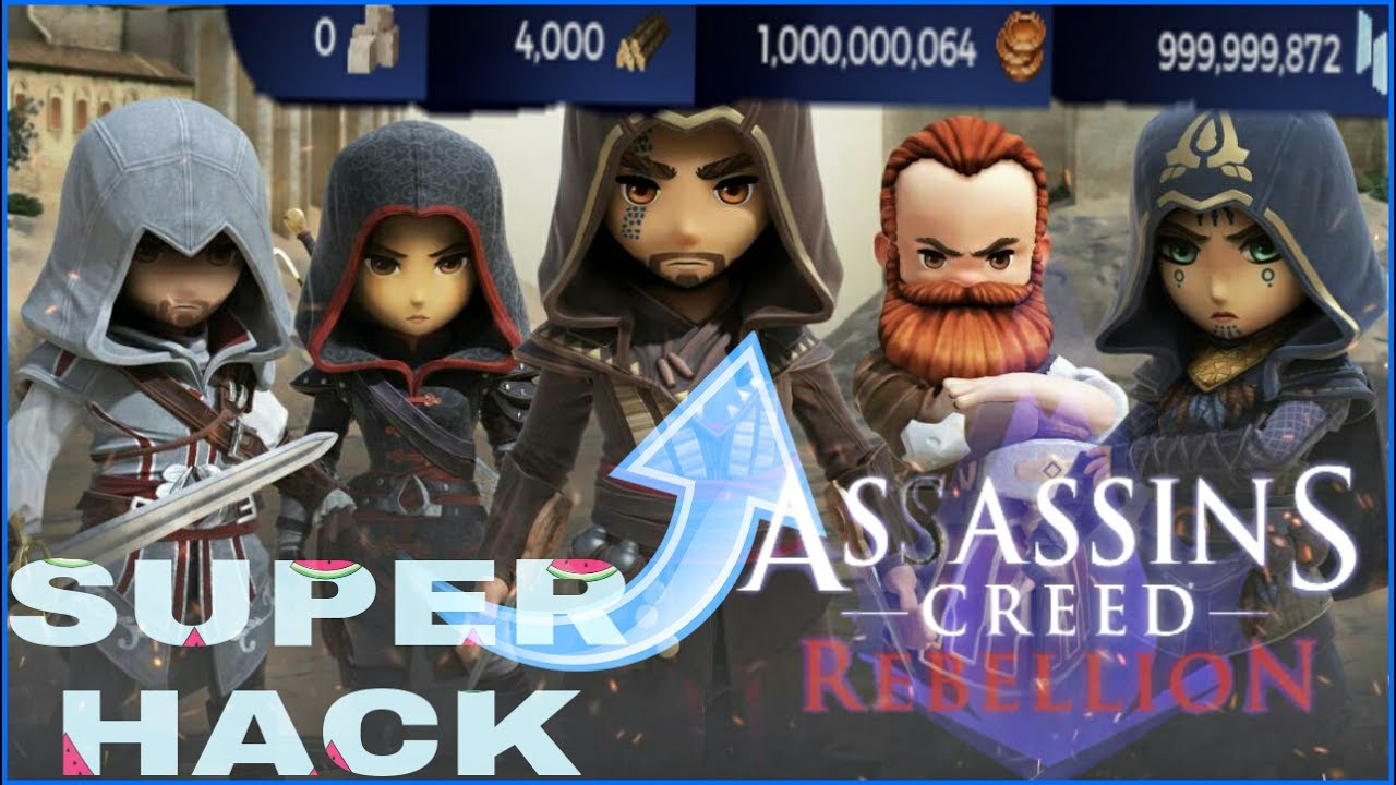 Assassins Creed Rebellion Super Hack [Money] - YouTube