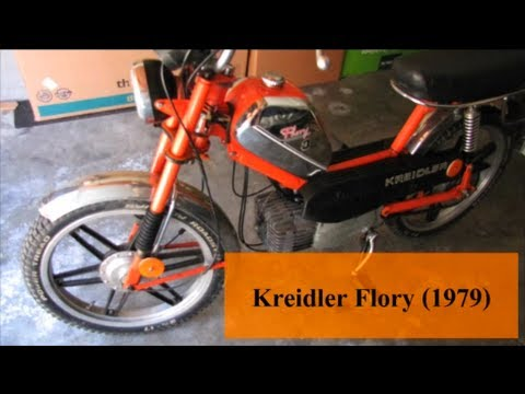 kreidler flory mf 23 sl 3 gang 1979 der mofa klassiker youtube. Black Bedroom Furniture Sets. Home Design Ideas