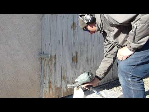 Test Pistolet Sablage Parkside Pdsp 1000 C3 Youtube