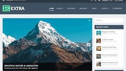 How To Make A WordPress Blog - Create A Blog With WordPress - EXTRA THEME