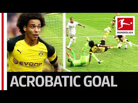 Axel Witsel - Acrobatic Wonder Goal Crowns Perfect Dortmund Debut