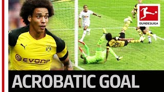 Axel Witsel - Acrobatic Wonder Goal Crowns Perfect Dortmund Debut Video