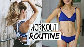 Full Body Workout Routine + How To Get in Shape FAST! | Fitness Routine 2017