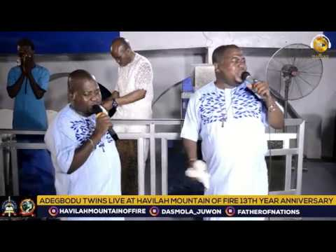 Download Adegbodu Twins live at Havilah Mountain of Fire (Daddy and Mummy Olubori)