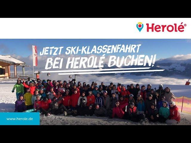Eine Woche Ski-Klassenfahrt mit HEROLÈ - #klassenfahrtdiary Winter