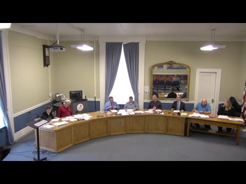 City of Plattsburgh, NY Meeting  4-20-17